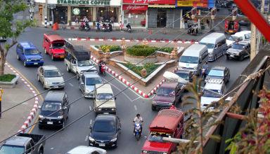 La routine à Chiang Maï dans le nord de la Thaïlande.