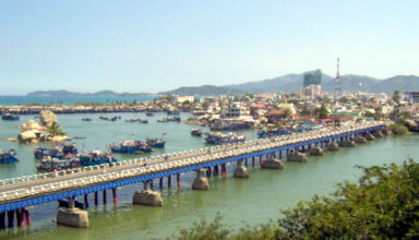 Vue de Nha-trang dans le sud du Vietnam.