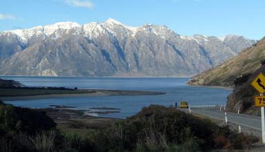 Juin 2008 - Aux environs de Wanaka en Nouvelle-Zélande.