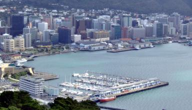 Juin 2008 - Wellington en Nouvelle-Zélande.