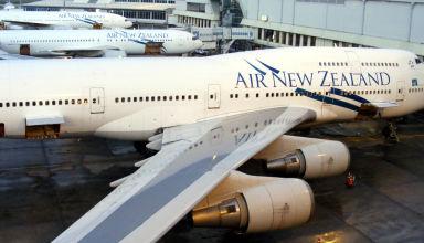Juillet 2008 - Aéroport d'Auckland en Nouvelle-Zélande.