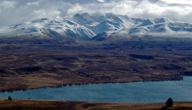 Juillet 2008 - Aux environs de Timaru sur la route pour rejoindre Christchurch, en Nouvelle-Zélande.