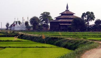 Aux environs du lac Inle, dans le nord de la Birmanie.