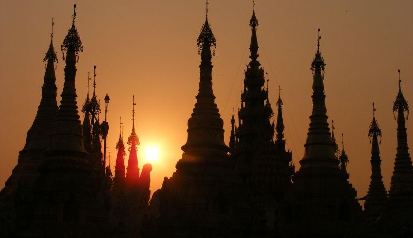 Pagode Shwedagon - Rangoon, Birmanie - 2010